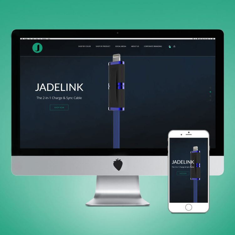 Jade J Website Designed by ANDesign